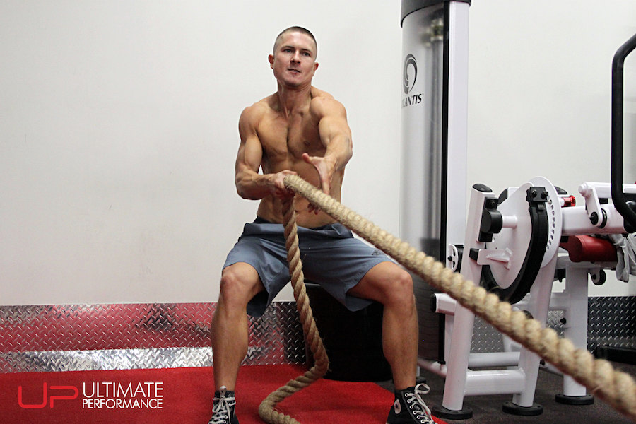Parker rope pull at Ultimate Performance
