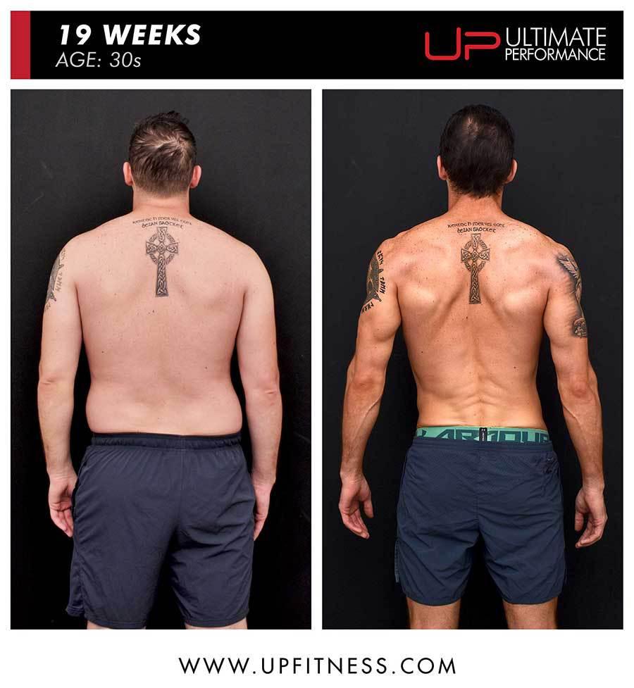 Paul | Body Transformation | Back