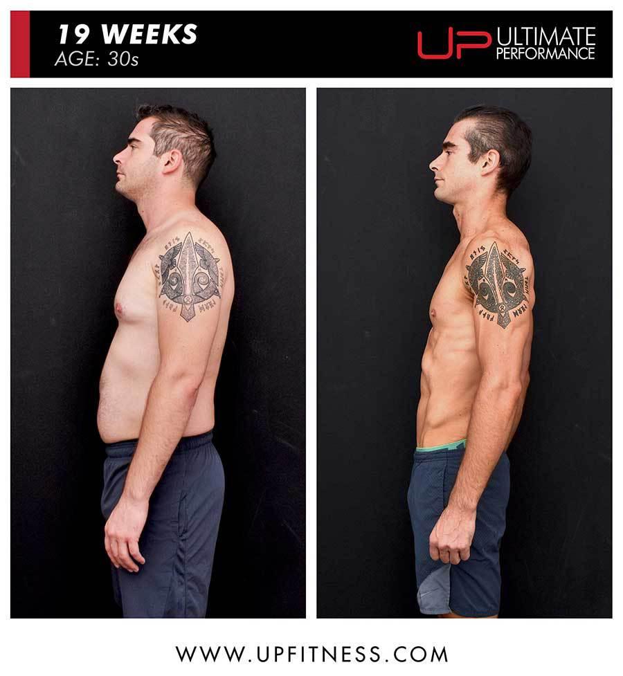Paul | Body Transformation | Side