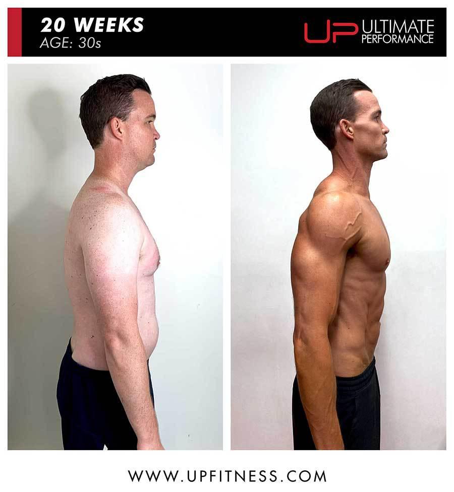 Ross | Body Transformation | Side