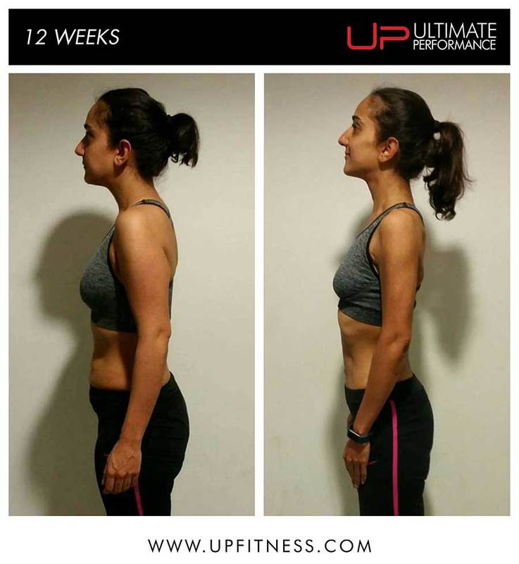 Sandi 12 week transformation - side