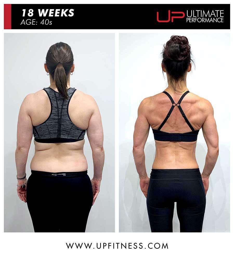 Sarah | Body Transformation | Back