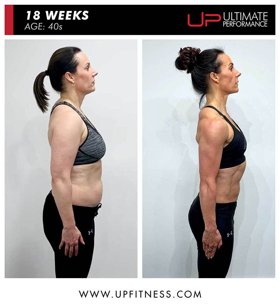 Sarah | Body Transformation | Side