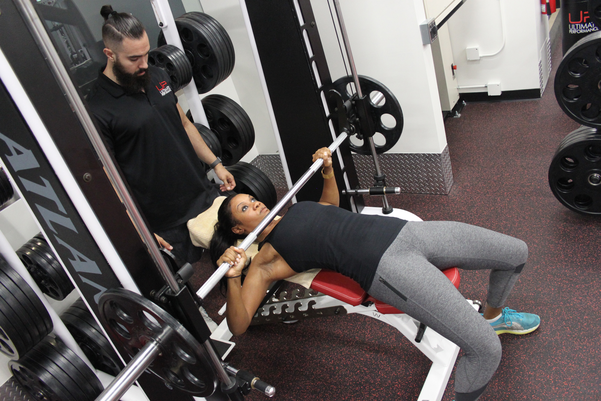Victoria | Body Transformation | Training with her U.P. trainer
