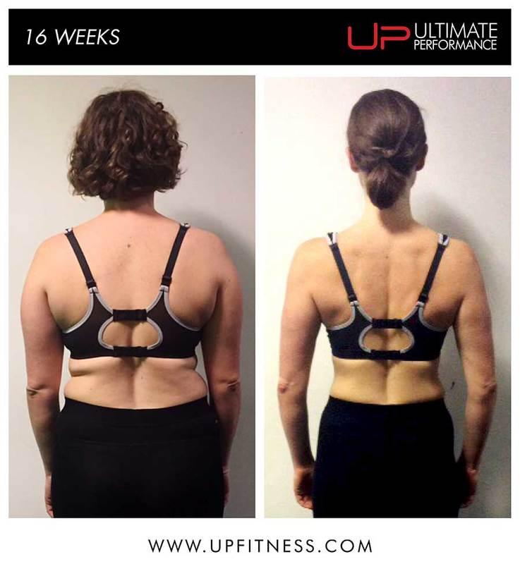 16-weeks transformation