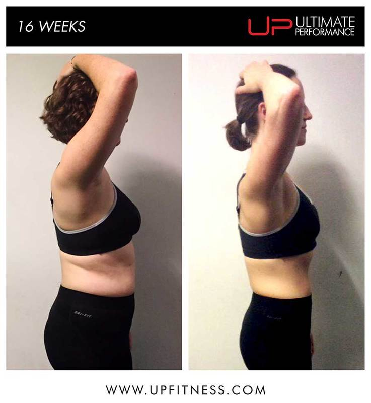 16-weeks transformation