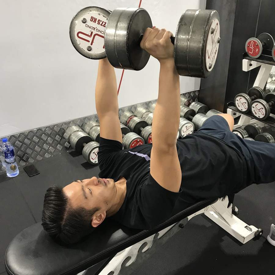norman-dumbbell-press