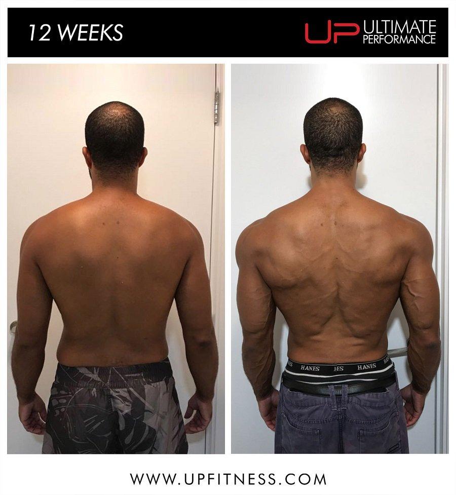 David   Body Transformation   Back