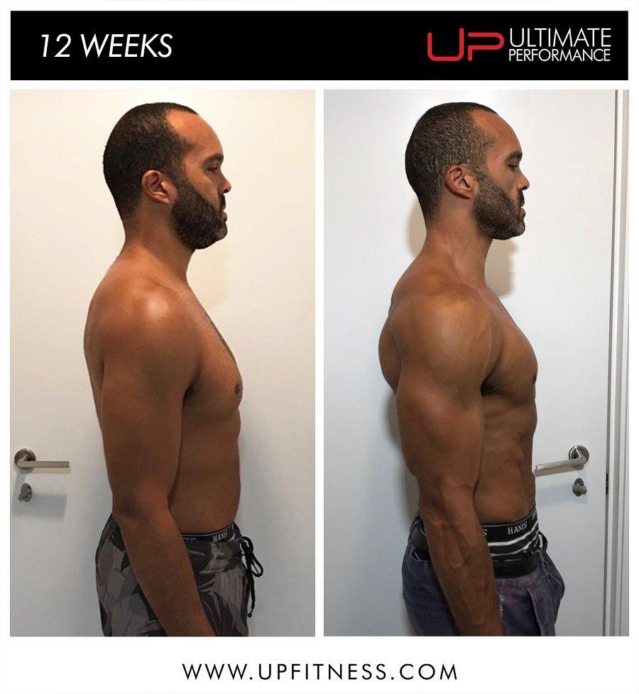 David   Body Transformation   Side
