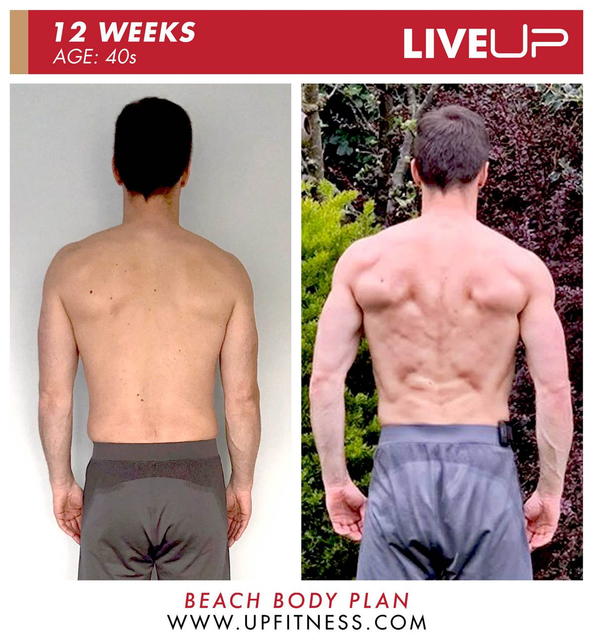 Mat | 12-Week Body Transformation | Back