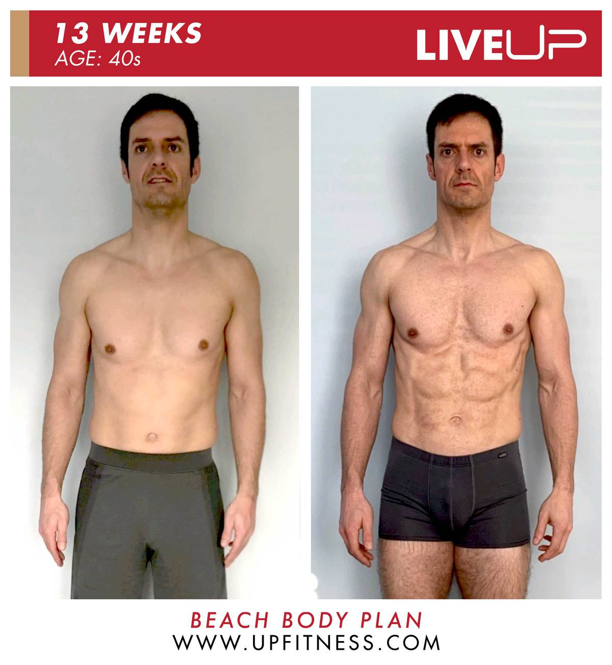 Mat | 13-Week Body Transformation | Front