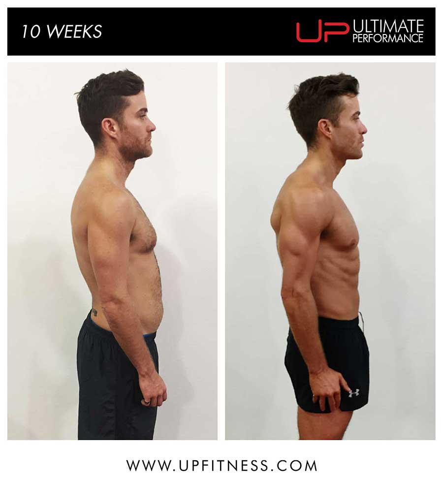 Paul - 10 weeks transformation - side results