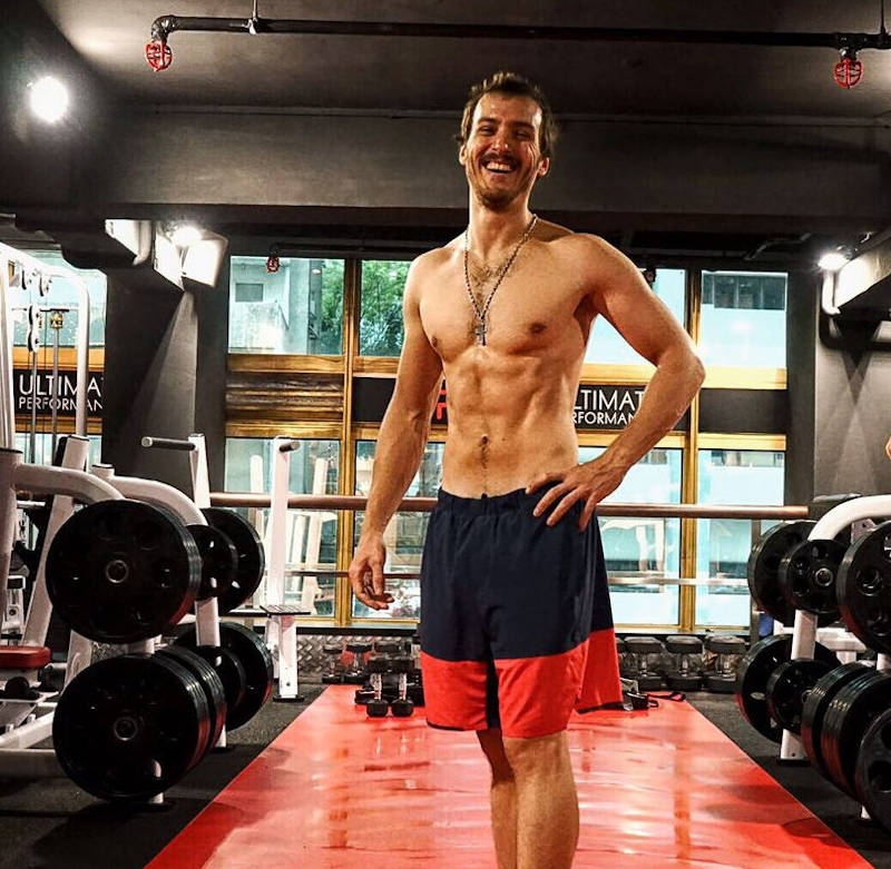 Robus after 12 weeks body composition transformation