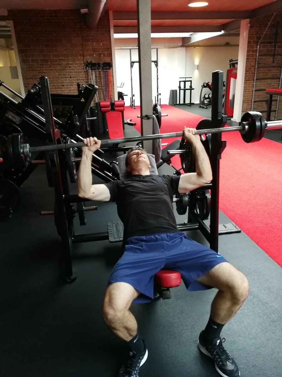 Incline bench press - Client of the month